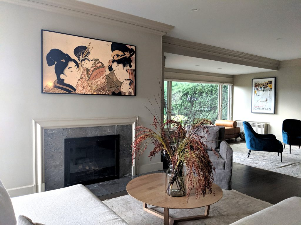 Woodland Design Company House With A View Living Room