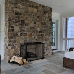 Woodland Design Company Meadow House Fireplace