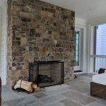 Woodland Design Company Meadow House Fireplace