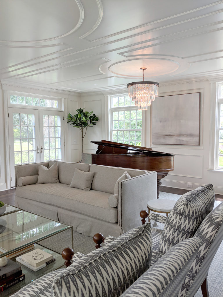 Woodland Design Company Meadow House Living Piano